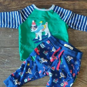 Baby Boden Christmas Outfit